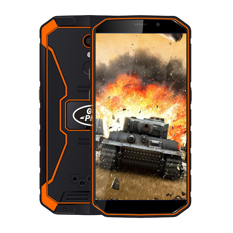 "Guophone XP9800 Smartphone 5.5""18:9 6500mah Waterproof IP68 MTK6739 Quad Core 2GB RAM16GB ROM Android 8.1 8.0MP 4G LTE Cellphone"