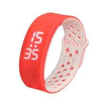 2016กันน้ำIP67 S Martbandสมาร์ทนาฬิกาข้อมือกีฬาสร้อยข้อมือสมาร์ทW9 PedometerสุขภาพติดตามสำหรับA Ndroid IOSโทรศัพท์
