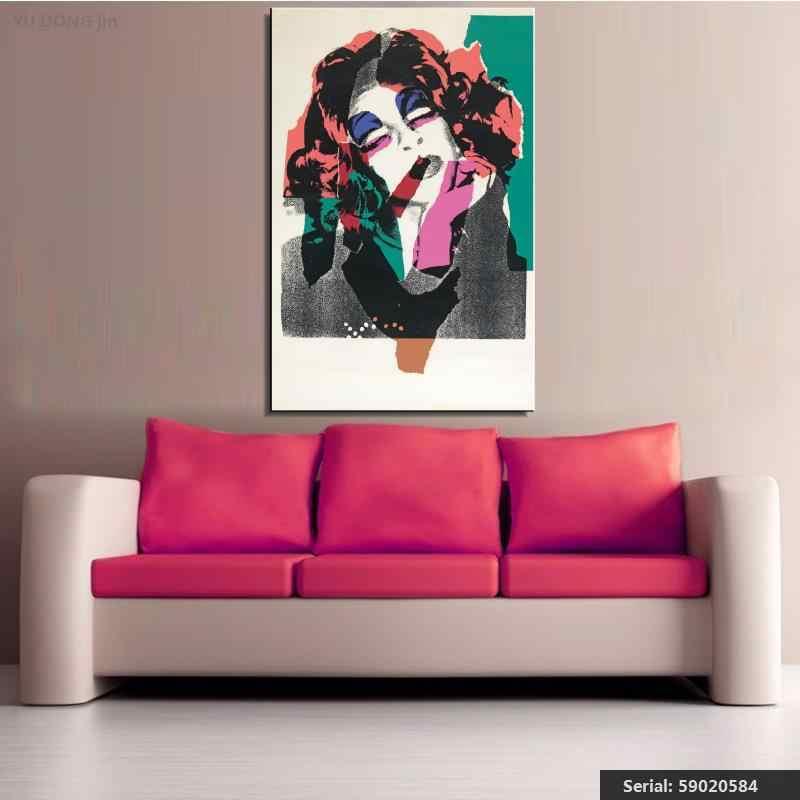 Yu dong jin Andy Warhol nature morte abstraite peinture à l'huile dessin art Spray sans cadre toile cire action à la main 59020584