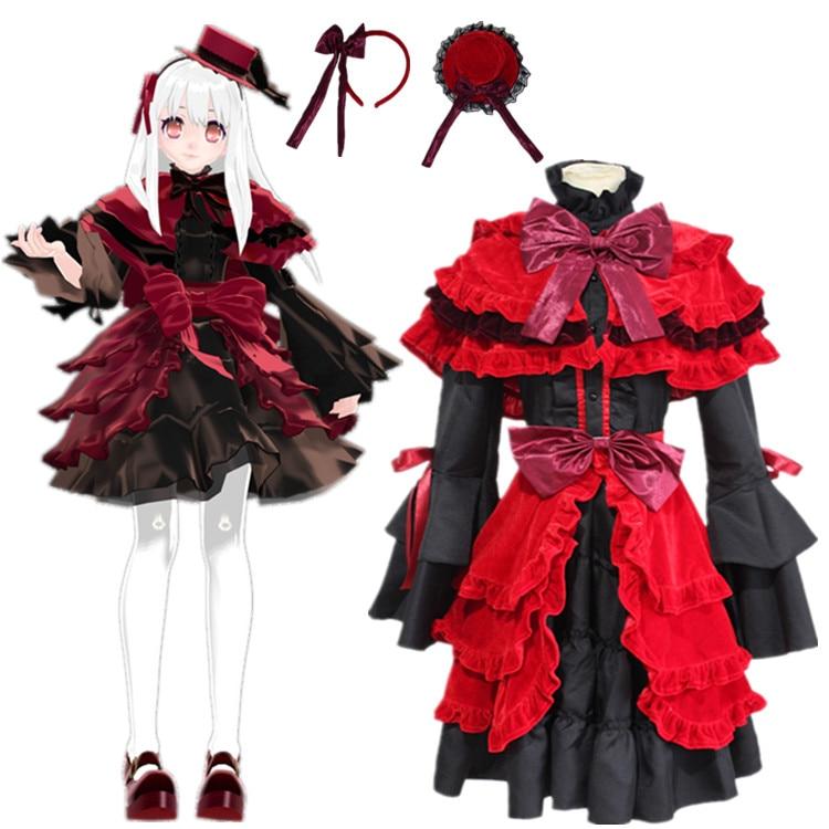 Kushina Anna cosplay kostymer klä japanska japanska anime K RETURN OF KINGS kläder Masquerade / Mardi Gras / Karneval kostymer
