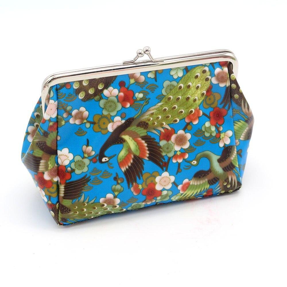 Women Lady Retro Vintage Small Wallet Girls Canvas Cute Wallets Hasp Purse Clutch Bag monederos de gato*00