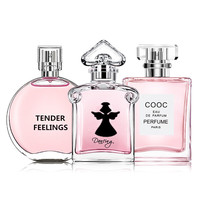 LAIKOU 75ml 3 Bottles 1Set Women Perfumed Men With Pheromone Body Spray Scent Lasting Fragrance for Women & Men Sweat Deodorant