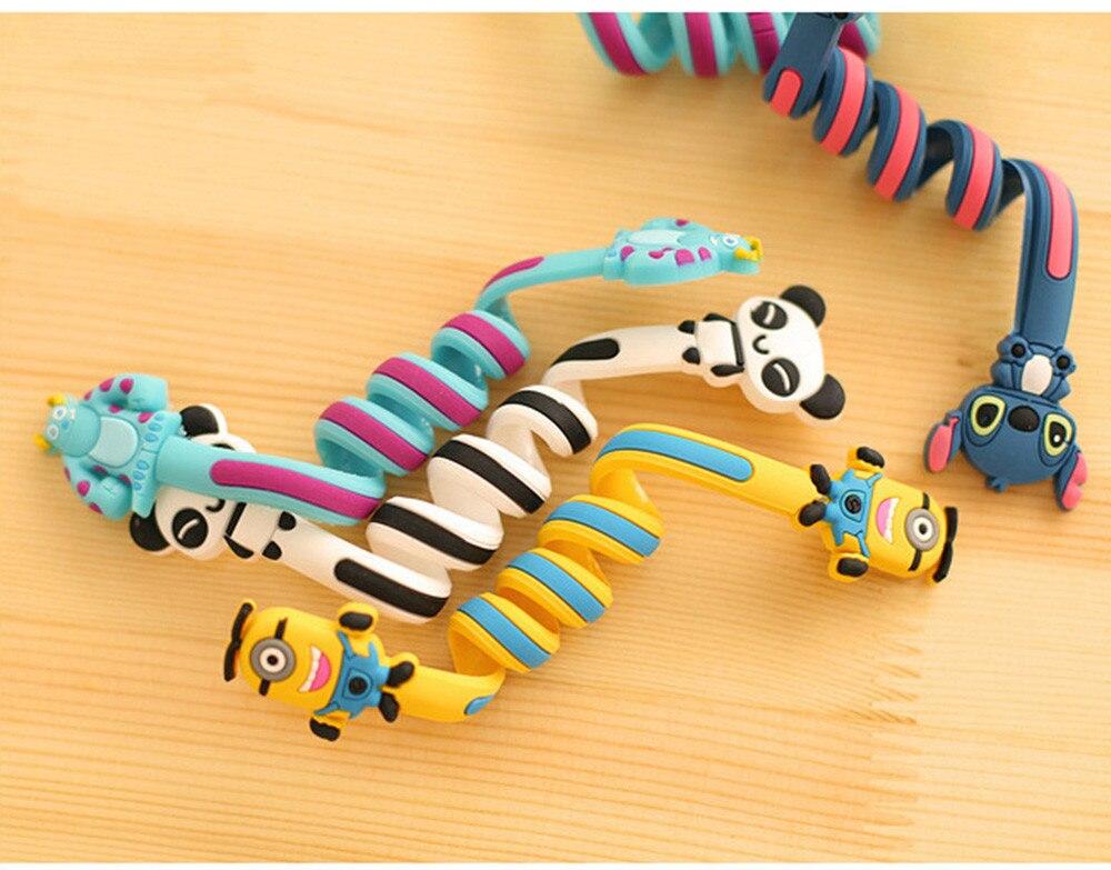 CUSHAWFAMILY милые Мультяшные животные моталки ушной механизм для хранения линии концентратора многофункциональные кабели для получения сумки клип