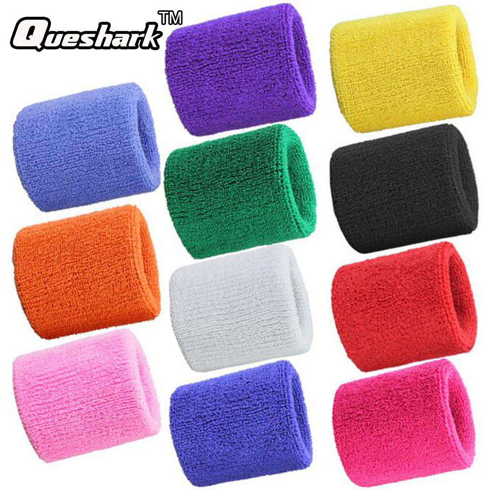 1 Pcs Volleyball Basketball Towel Wristbands Sports Sweatband Sweat Absorbed Wrist Support Brace Wrist Wraps Guards ...