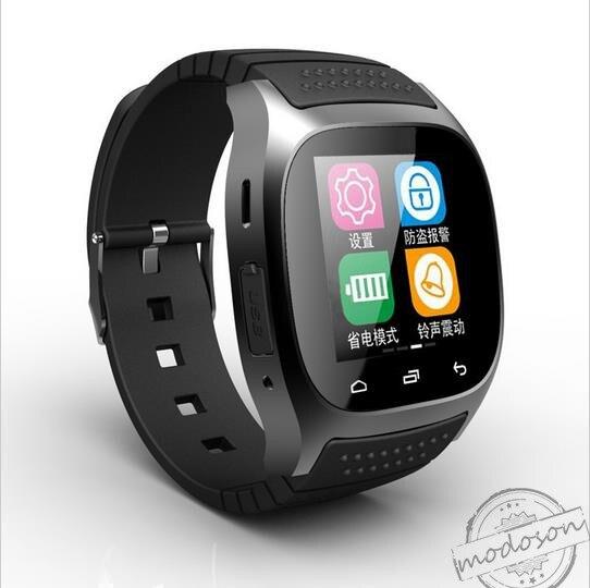 imágenes para Bluetooth smartwatch reloj houts para samsung huawei smart watch m26 htc xiaomi lg lenovo lg meizu sony oppo vivo android teléfono
