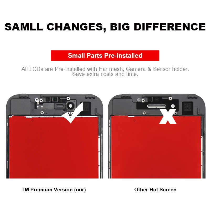 5 個 iphone 7 7 グラム液晶 AAA 品質スクリーンデッドピクセルの Lcd ディスプレイタッチスクリーンデジタイザアセンブリの交換