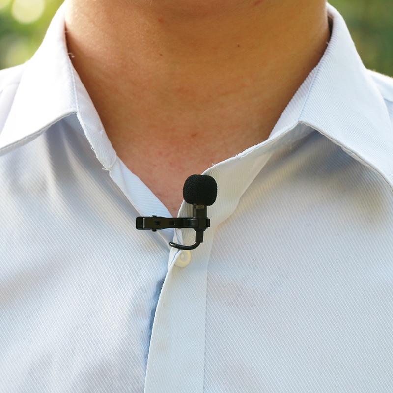 Ulanzi Arimic 1,5 м клип-на петличный нагрудный микрофон конденсаторный микрофон W TRRS Кабель-адаптер для iPhone Android смартфон/iPad/DSLR