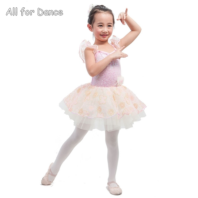 2efb249a0 New Design Pink Sequin Spandex Bodice Dance Costume For Little ...