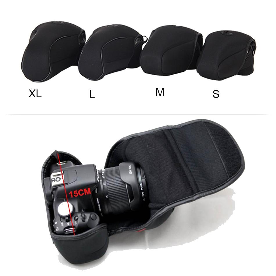 DSLR Camera Sleeve Liner Bag For Canon 1300D 1200D 1100D 800D 750D 760D 700D 5D4 5D3 5D2 100D 200D 80D 70D 60D 77D 7D 7D MarkII