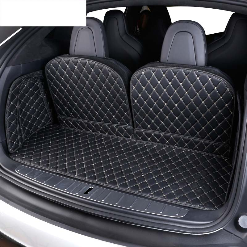 lsrtw2017 luxury fiber leather car trunk mat for tesla model x 2015 2016 2017 2018 2019 2020lsrtw2017 luxury fiber leather car trunk mat for tesla model x 2015 2016 2017 2018 2019 2020