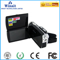 Winait 720*480 solar digital video camera , max 16 mp digital camcorder with 3.0'' TFT display free shipping