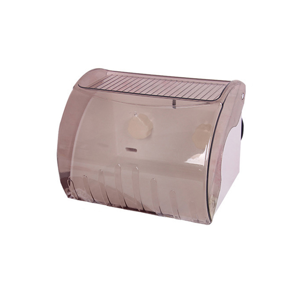Rectangle Waterproof Toilet Paper Holder Cover Wall ... on Wall Mounted Tissue Box Holder id=66306