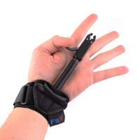 Adult Compound Bow Caliper Release Shooting Trigger With Buckle Wrist Strap Free Shipping