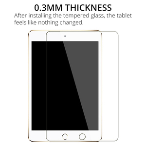 Tempered Glass Film Screen Protector for iPad 10.2 2019 7th 2018 6th 2017 5th Generation Air 1 2 9.7 Pro 10.5 11 Mini 3 4 5 7.9