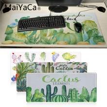 Maiyaca кактус Акварельная офисная мышь геймерская аниме прочный