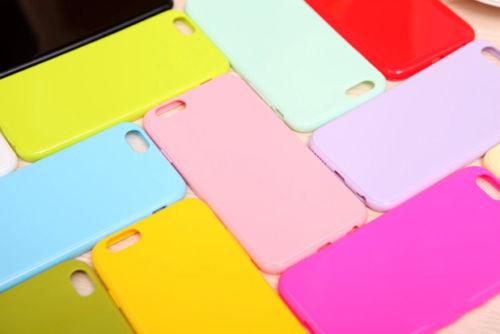 PASTEL CANDY GLOSS SHINY SOFT SILICONE CASE COVER SKIN SHELL FOR - Բջջային հեռախոսի պարագաներ և պահեստամասեր - Լուսանկար 3