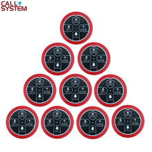 Ycall 10pcs Call Button K-E4 Pagers Transmitter Four-key Restaurant Pager Wireless Waiter Calling System