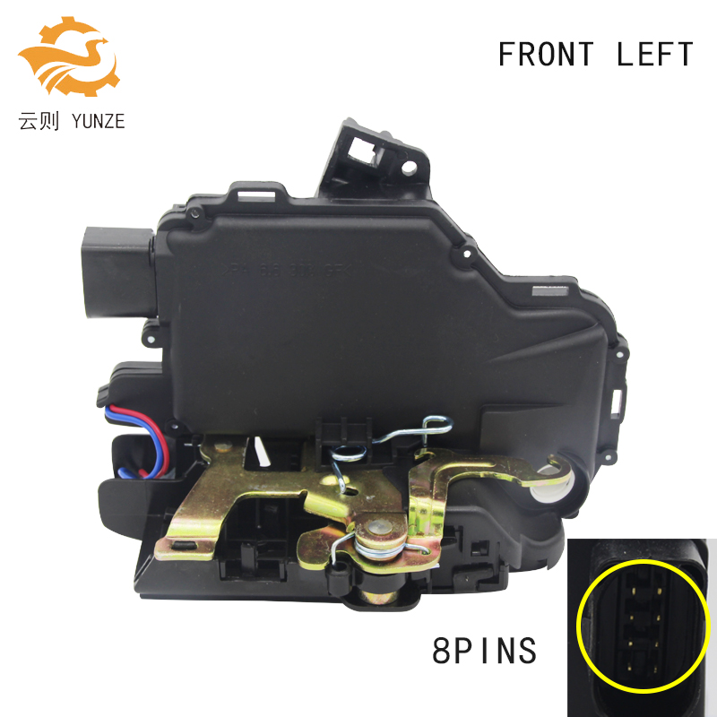 FRONT LEFT FOR GOLF 4 IV MK4 SEAT SKODA VW PASSAT B5 BORA VW LUPO NEW BEETLE DOOR LOCK ACTUATOR CENTRAL MECHANISM BRAND NEW
