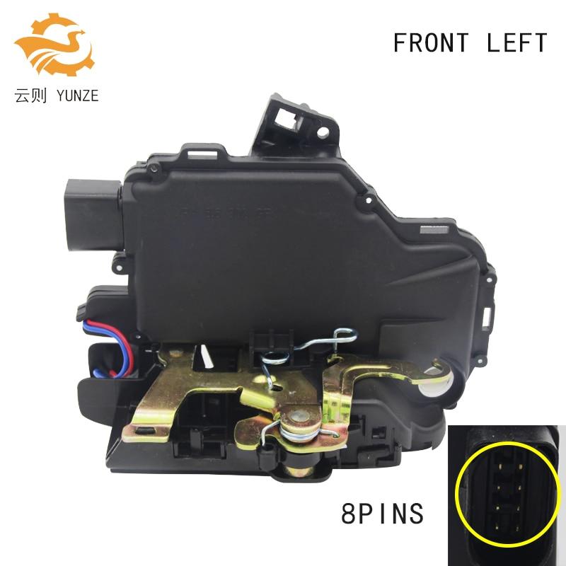 FRONT LEFT FOR GOLF 4 IV MK4 SEAT SKODA VW PASSAT B5 BORA VW LUPO NEW BEETLE DOOR LOCK ACTUATOR CENTRAL MECHANISM BRAND NEW