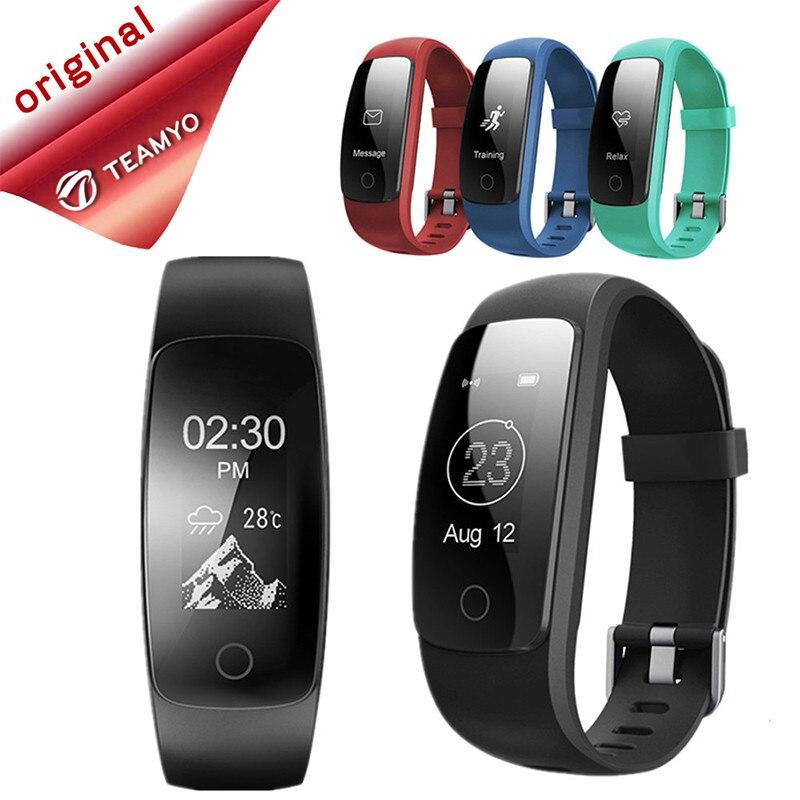 Teamyo Sport Smart Bracelet ID107 Plus GPS Tracker Heart Rate Monitor