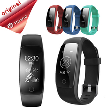 Teamyo Спорт умный Браслет ID107 плюс GPS трекер сердечного ритма Мониторы cardiaco смарт-браслет с шагомером Sleep Monitor SmartBand