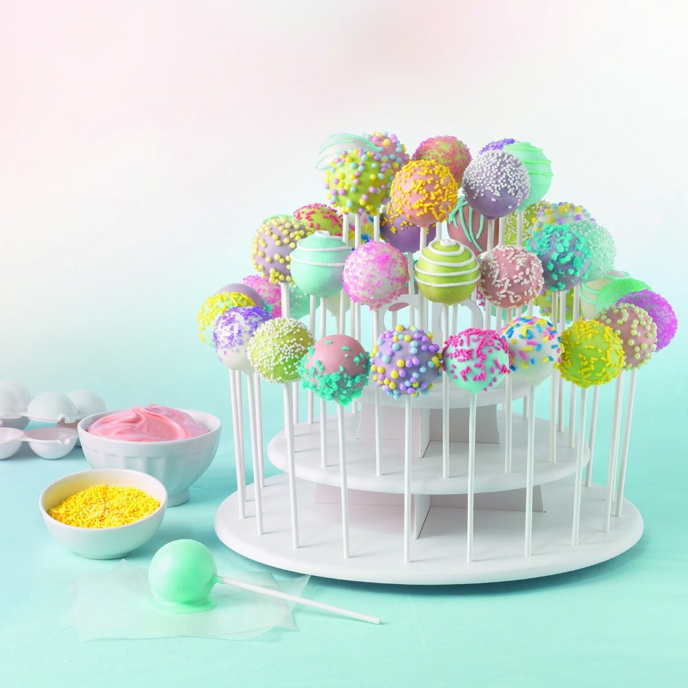 Hot Sale Cupcake And Cake Pop 3 Tier Display Stand Lollipop Holder