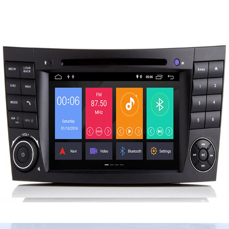 Android 9.0 Octa Core PX5 For Mercedes/Benz/E-Class/W211/E300/<font><b>CLK</b></font>/<font><b>W209</b></font>/CLS/W219 Car Multimedia DVD Player Navigation GPS <font><b>Radio</b></font> image