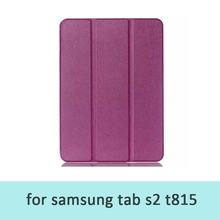 leather cover cases for samsung galaxy tab s2 t815 tablet pc protective skin for samsung 9.7inch