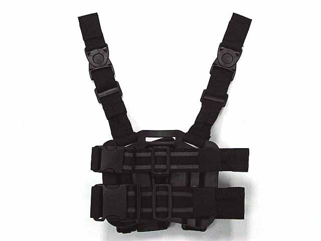 Beretta 92/96 tactical gun holster RH Drop Leg Holster w/ Mag&Light Case