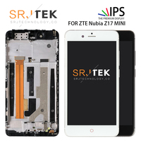 SRJTEK 5.2 For ZTE Nubia Z17 Mini Display Touch Screen Digitizer For Nubia Z17 Mini LCD NX569J NX569H Assembly Replacement