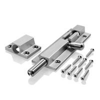 best 6/12 304 Stainless Steel Cast Slide door latch barrel bolt