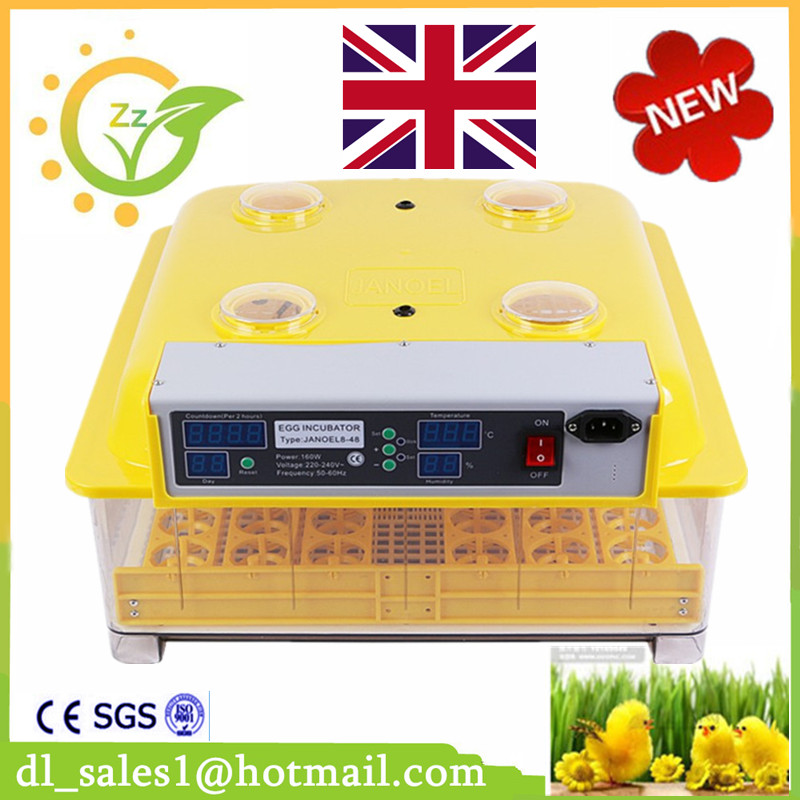 Mini China Chicken 48 Eggs Incubator Eggs Automatic Control Temperature And Egg Turning For Sale nanchang huatuo industrial company sale humidity and temperature controller 24 6336 chicken eggs