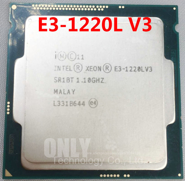 US $64 0 |intel core CPU E3 1220L V3 E3 1220LV3 1 10 GHz 22 nm LGA 1150 CPU  Computer Processor SR1BT-in CPUs from Computer & Office on Aliexpress com