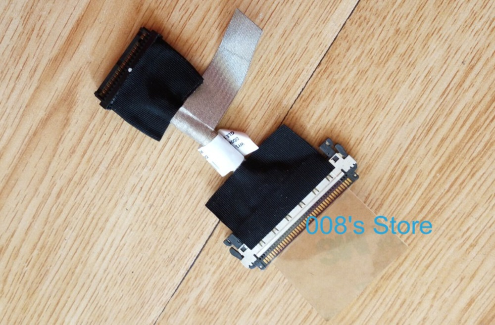 Brand New LCD Video Flex Screen Data Cable Wire Line For Lenovo A720 A730 A520 DD0WY1LC100 Laptop Series free shipping brand laptop new lcd flex video cable for lenovo g500s g505s cable dc02001rr10