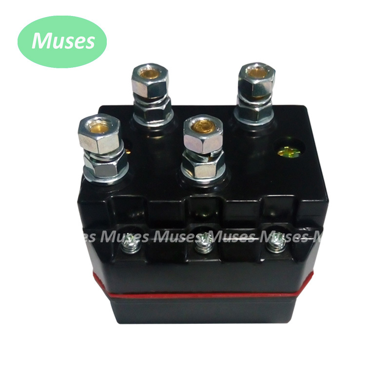 100A (400A) 12V DC Motor Contactor Motor Reversing