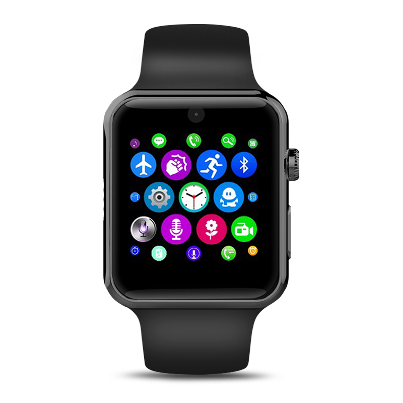 New Bluetooth Smart Watch IWO 1 1 MTK2502C Wearable Devices Sync Notifier Support SIM Card for