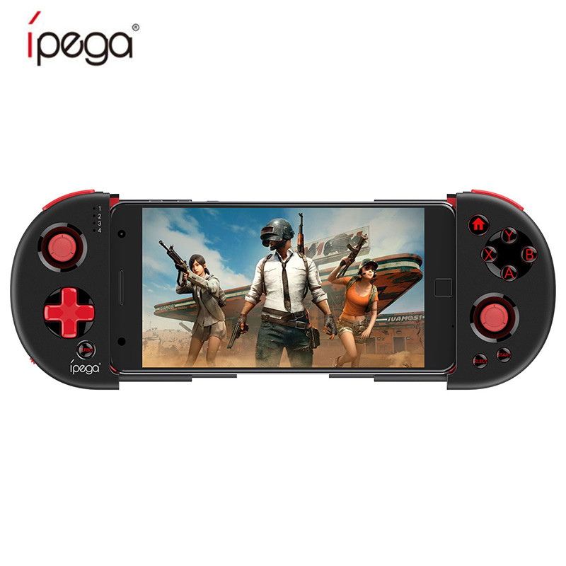 IPEGA PG-9087 Bluetooth Gamepad For Android / IOS Smart Phone PG 9087 Extendable Game Controller For Tablet PC Android TV Box цены онлайн