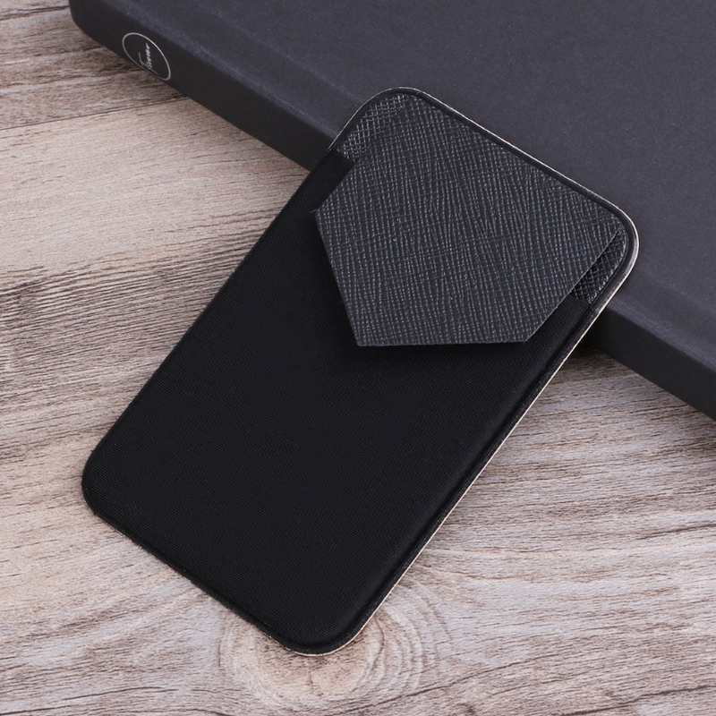 Elastic Mobile Phone Wallet Credit ID Card Holder Adhesive Pocket Sticker CaseElastic Mobile Phone Wallet Credit ID Card Holder Adhesive Pocket Sticker Case