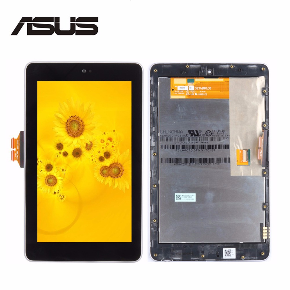 High Quality 7Inch for ASUS Google Nexus 7 1st ME370 LCD Display + Touch Screen Full Assembly with Frame Tablet PC Replacement