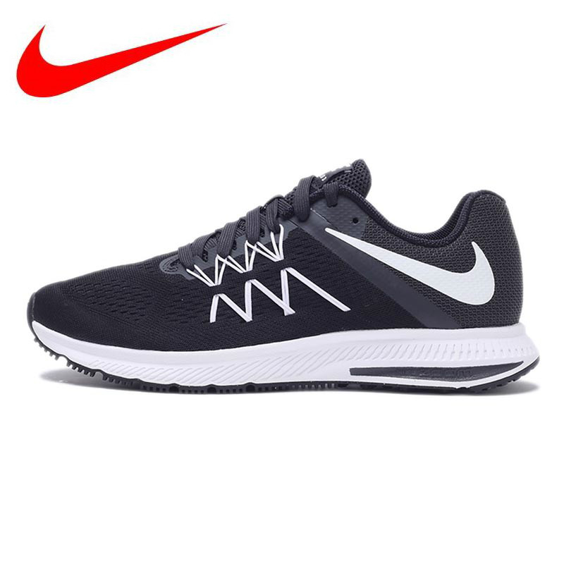 163110148eb NIKE Breathable ZOOM WINFLO 3 New Arrival Original Men's Running Shoes  Sneakers Trainers
