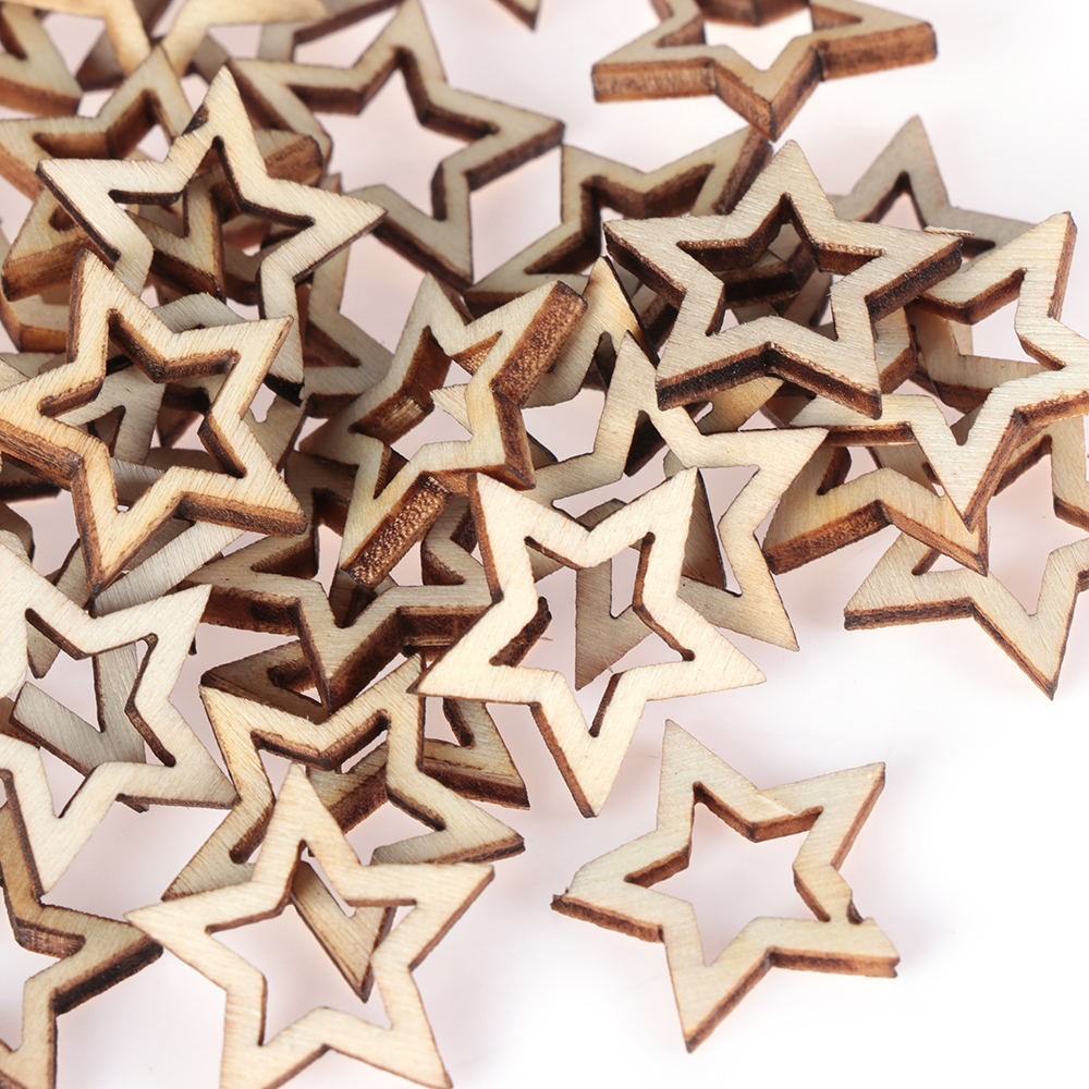 50 x 20mm A8 MDF Cars Laser Cut Embellishments Wooden Craft Shapes Wholesale