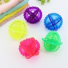 5 teile/satz 5 cm Wäsche Ball Einfacher Reinigung Solide Reinigung Bälle Magische Wäsche Ball Für Haushalts Reinigung Waschmaschine Kleidung