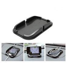1PC Anti-Slip Car Sticky Pad Mat Mobile Phone Sticky Accessories Mount Stick Holder Car Non-slip Mat Storage Box OK 0726