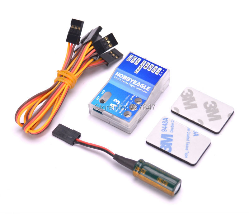 Eagle A3 Aeroplane Flight Controller Stabilizer System 6-axle Gyro for RC Airplane Fixed-wing Copter