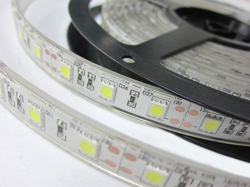 5M RGB Led Strip Light Waterproof 5050 SMD 60Led/M 300Leds String Ribbon IP65 Led Tape+44Keys Remote Control+12V 3A Power Supply