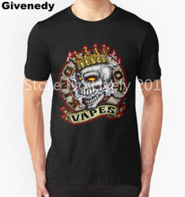 King Of Vapes Skull With Crown Mens & Womens Short Sleeve T shirt Cotton Fashion T shirt