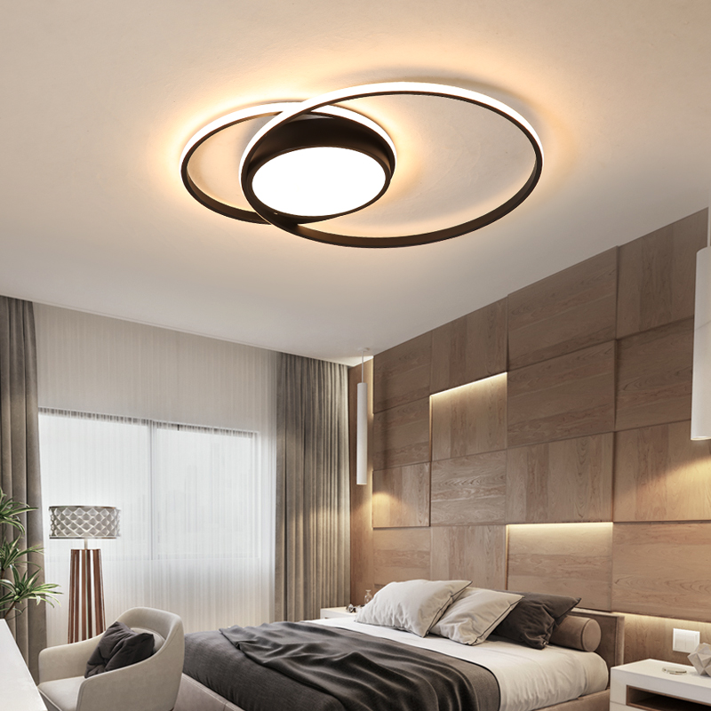 bedroom ceiling room LED lights lampe plafond avize modern LED ceiling lights lamp with remote control