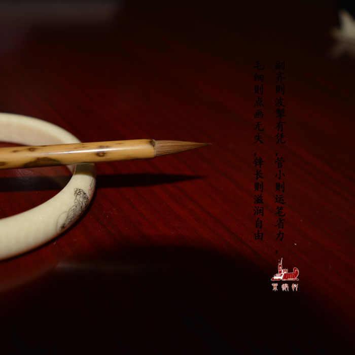純粋な狼尻尾へのエントリーによって文字書道や絵画を練習ブラシの高品位セットペン中国筆