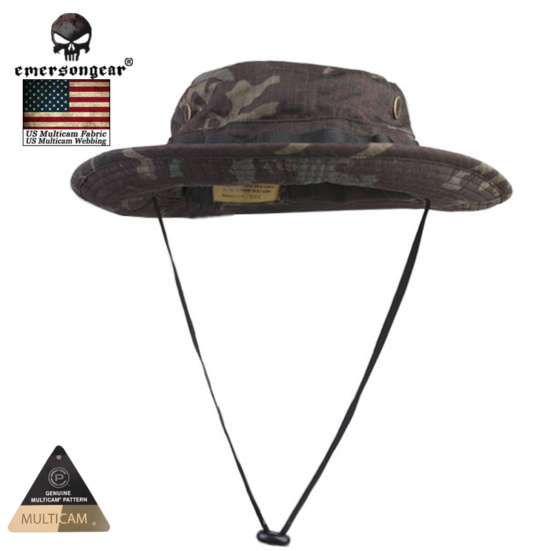 11f7052d4f6 Emersongear Hunting Caps MILITARY Tactical Boonie Hat Multicam Black Bucket  Hats EM8729