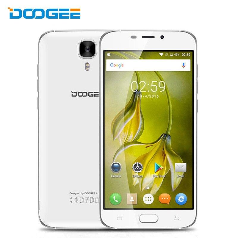 """Цена за DOOGEE X9 Pro 4 Г Отпечатков Пальцев ID 3000 мАч OTG 5.5 """"HD Смартфон Android 6.0 MTK6737 Quad Core Мобильного Телефона 2 ГБ + 16 ГБ 8MP Мобильного Телефона"""